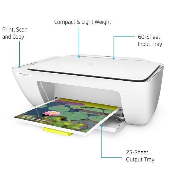 HP DeskJet 2132 All-in-One Inkjet Colour Printer