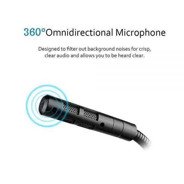Tablor Noise Cancelling USB Microphone