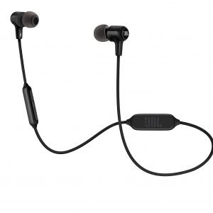 JBL E25BT Signature Sound Wireless in-Ear Headphones with Mic (Black)